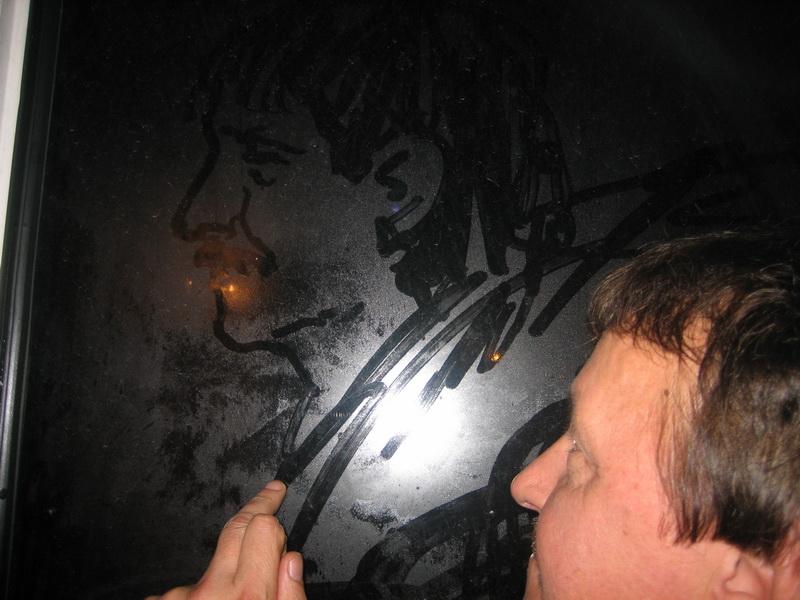 鏡の自画像