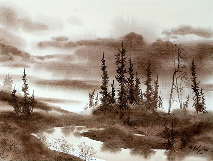 北のツンドラ